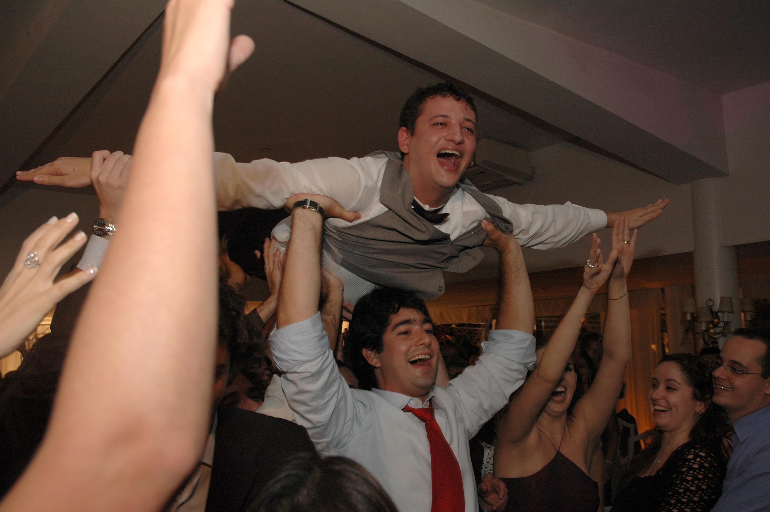 Casamento Bruno e Cecília 30/09/2006 - João Henrique Conduzindo o Voa-Voa com Bruno Juliani